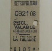 metrokaartje